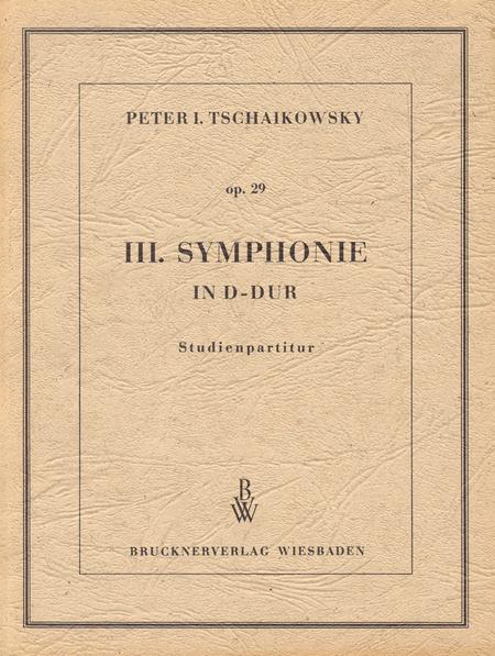 3. Symphony D major op. 29