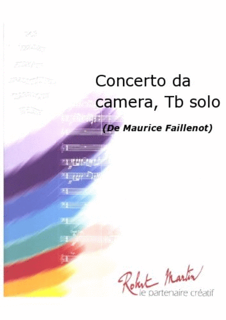 Concerto Da Camera, Trombone Solo