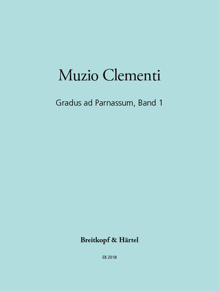 Gradus ad Parnassum, Band 1