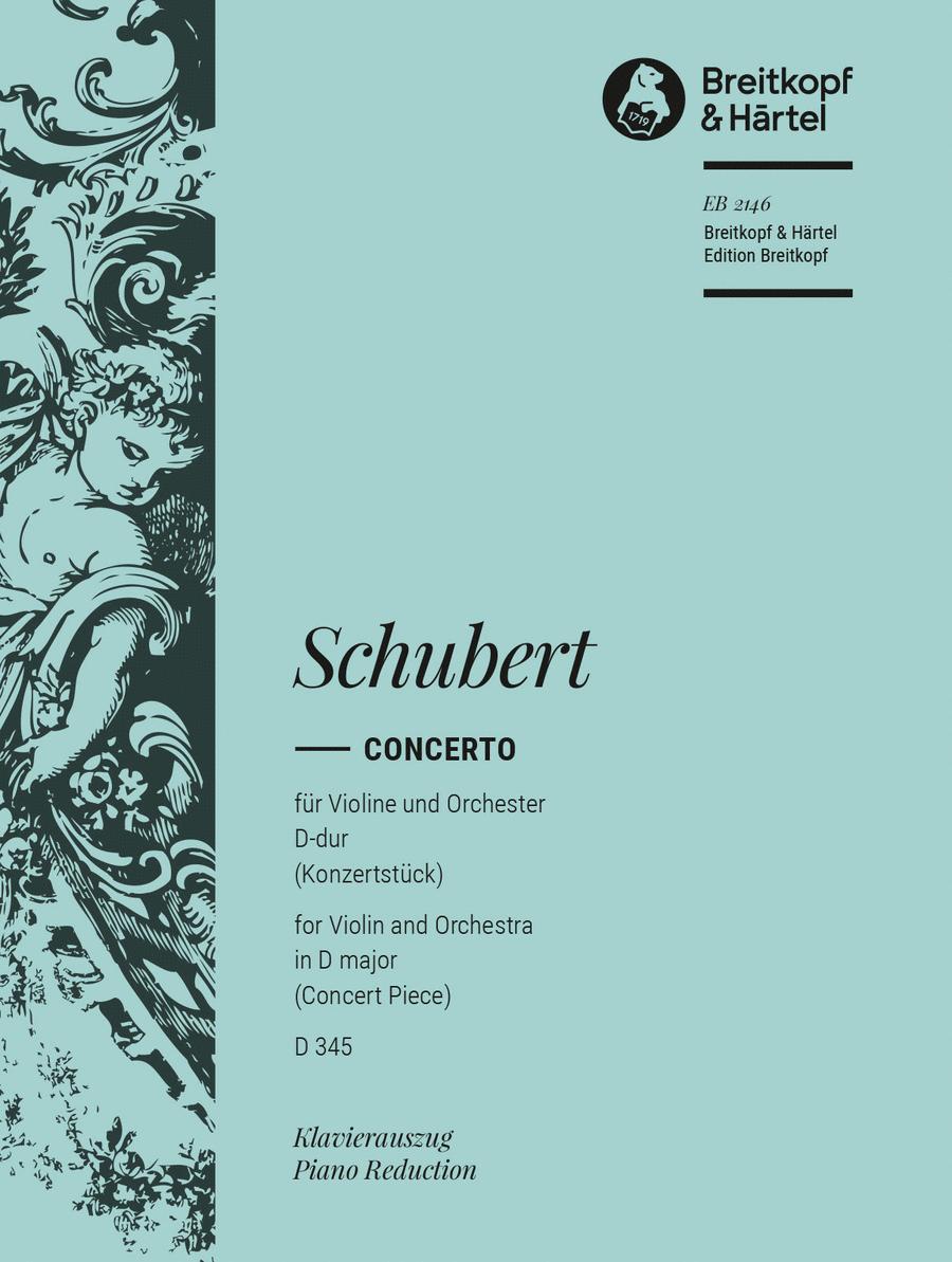 Konzertstuck D-dur D 345
