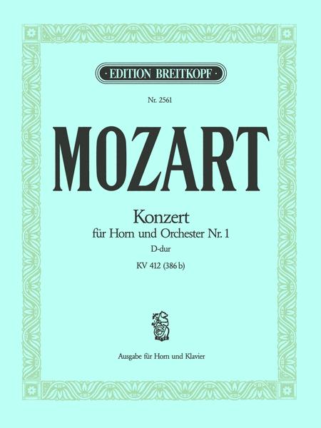 Hornkonzert Nr. 1 D-dur KV 412