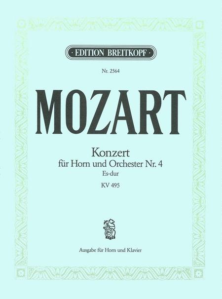 Hornkonzert Nr. 4 Es-dur KV 495