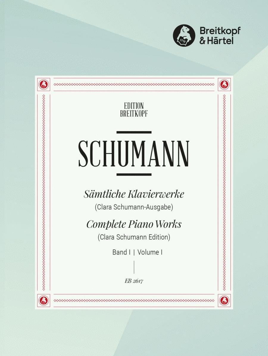 Samtliche Klavierwerke, Band 1