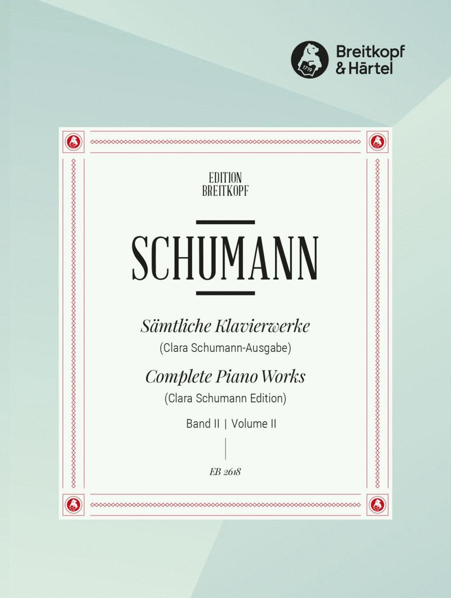 Samtliche Klavierwerke, Band 2
