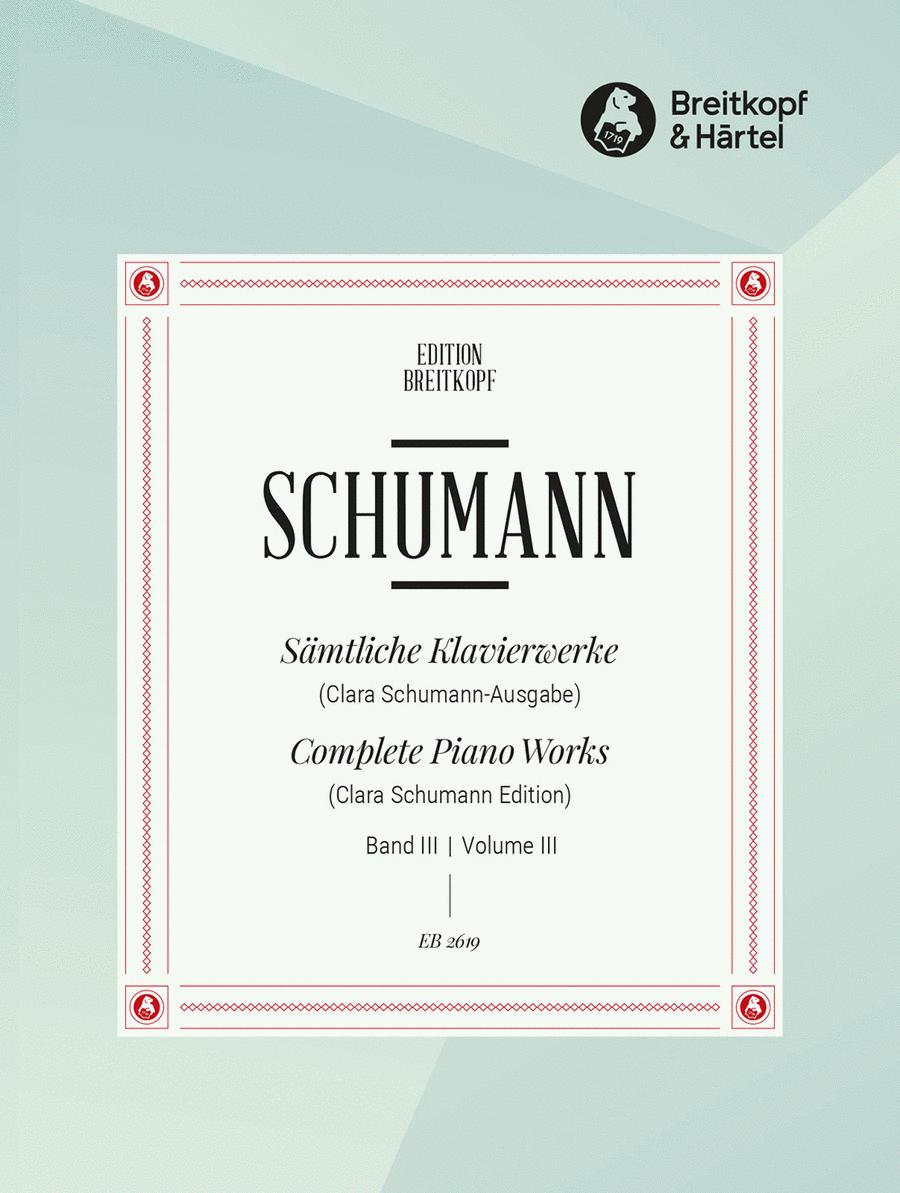 Samtliche Klavierwerke, Band 3