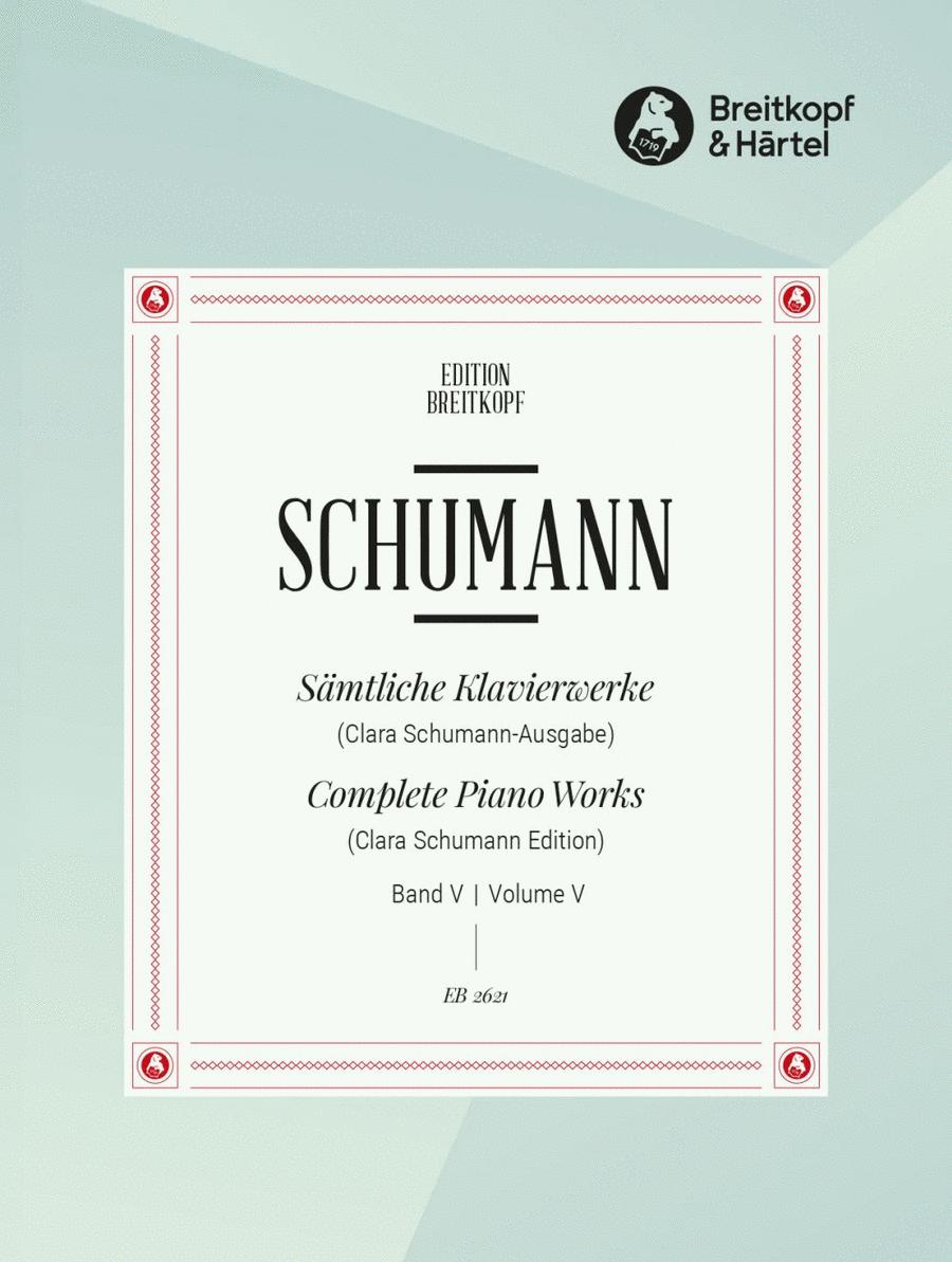 Samtliche Klavierwerke, Band 5