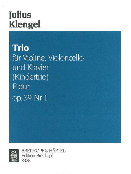 Kindertrio F-dur op. 39, Nr. 1