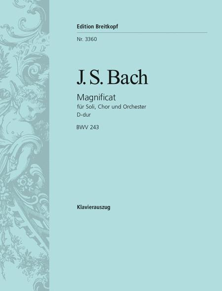 Magnificat D-dur BWV 243