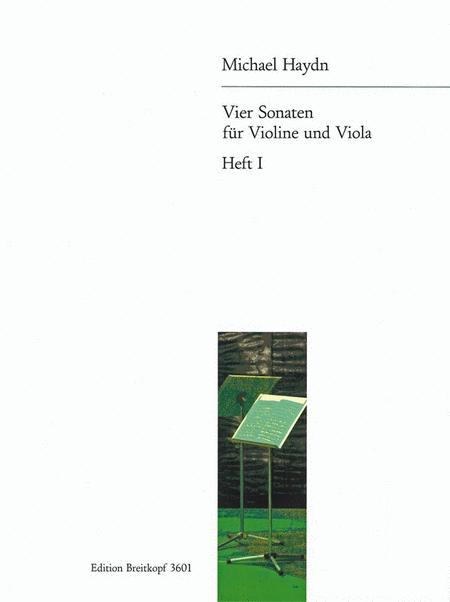 4 Sonaten fur Violine und Viola 1
