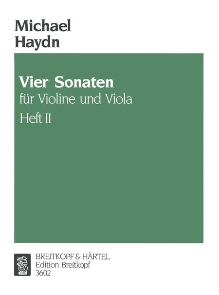 4 Sonaten fur Violine und Viola 2