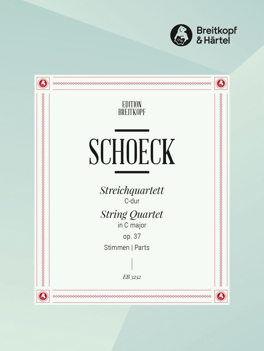Streichquartett C-dur op. 37