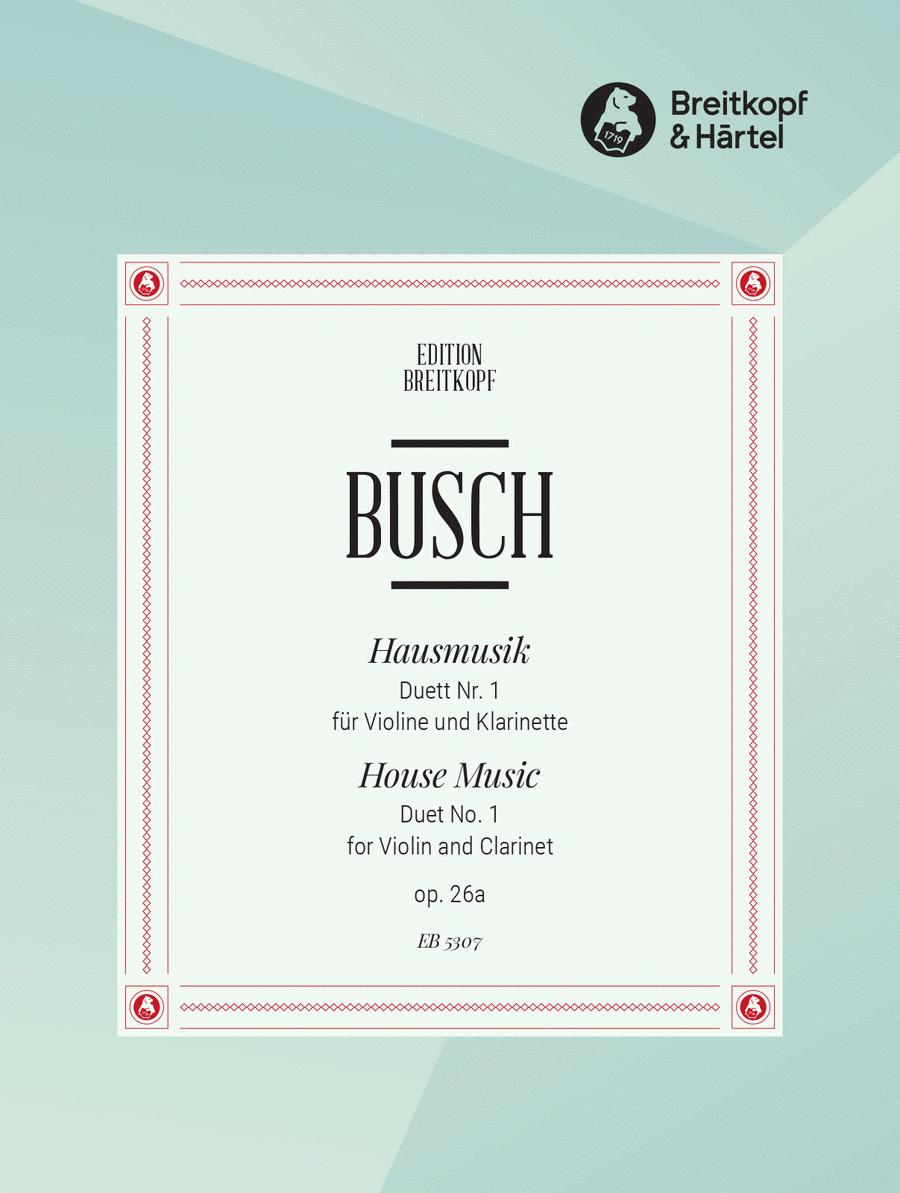 Hausmusik Duett Nr. 1 op. 26/1