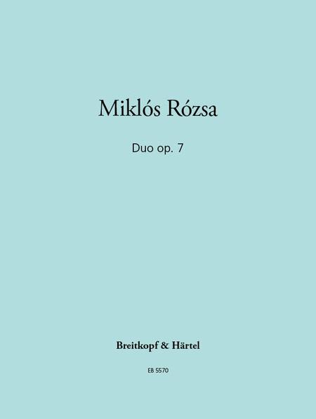 Duo op. 7