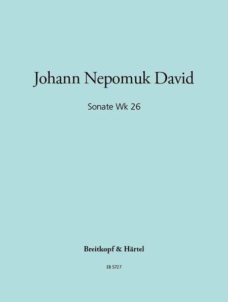 Sonate Wk 26