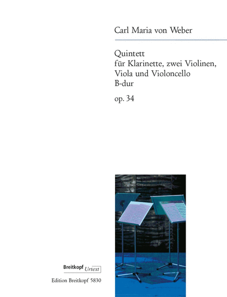 Quintett B-dur op. 34