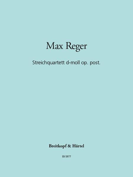 Streichquartett op. post.