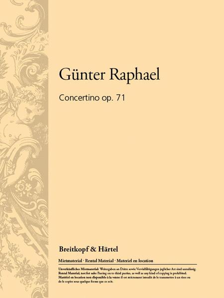 Concertino op. 71