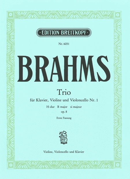 Klaviertrio Nr. 1 H-dur op.8(1)