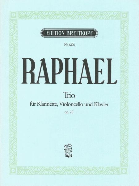 Klarinettentrio op. 70