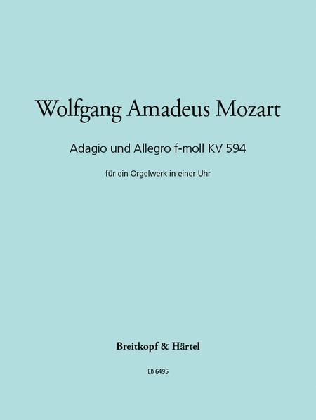 Adagio und Allegro f-moll KV 594