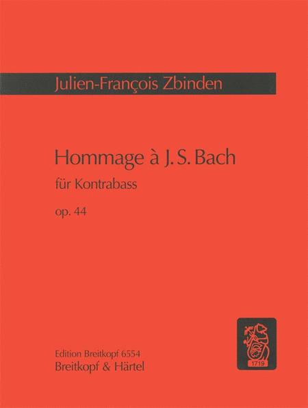 Hommage a J S Bach op. 44