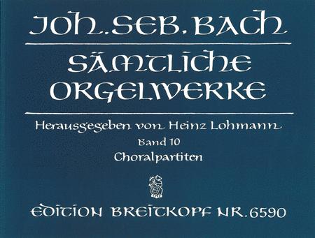 Samtliche Orgelwerke, Band 10