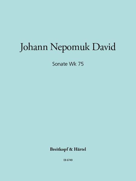 Sonate Wk 75