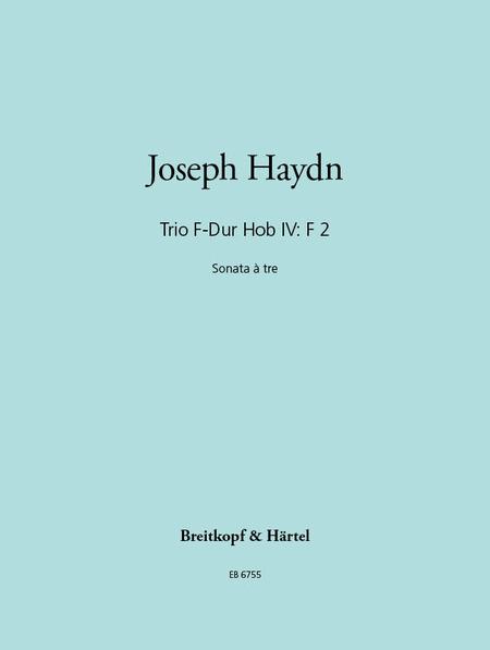 Trio F-Dur Hob IV: F 2