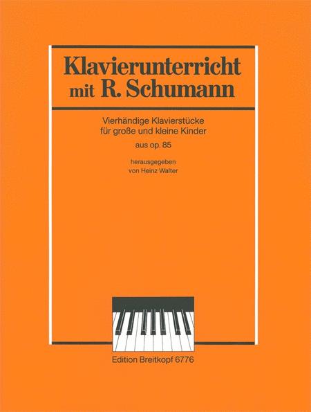 Klavierunterricht mit Robert Schumann (aus op. 85)