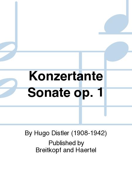 Konzertante Sonate op. 1
