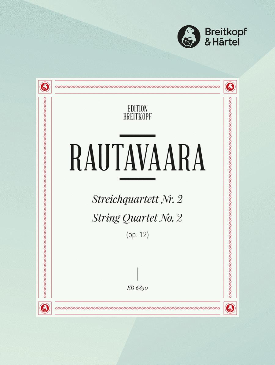Streichquartett Nr. 2 op. 12