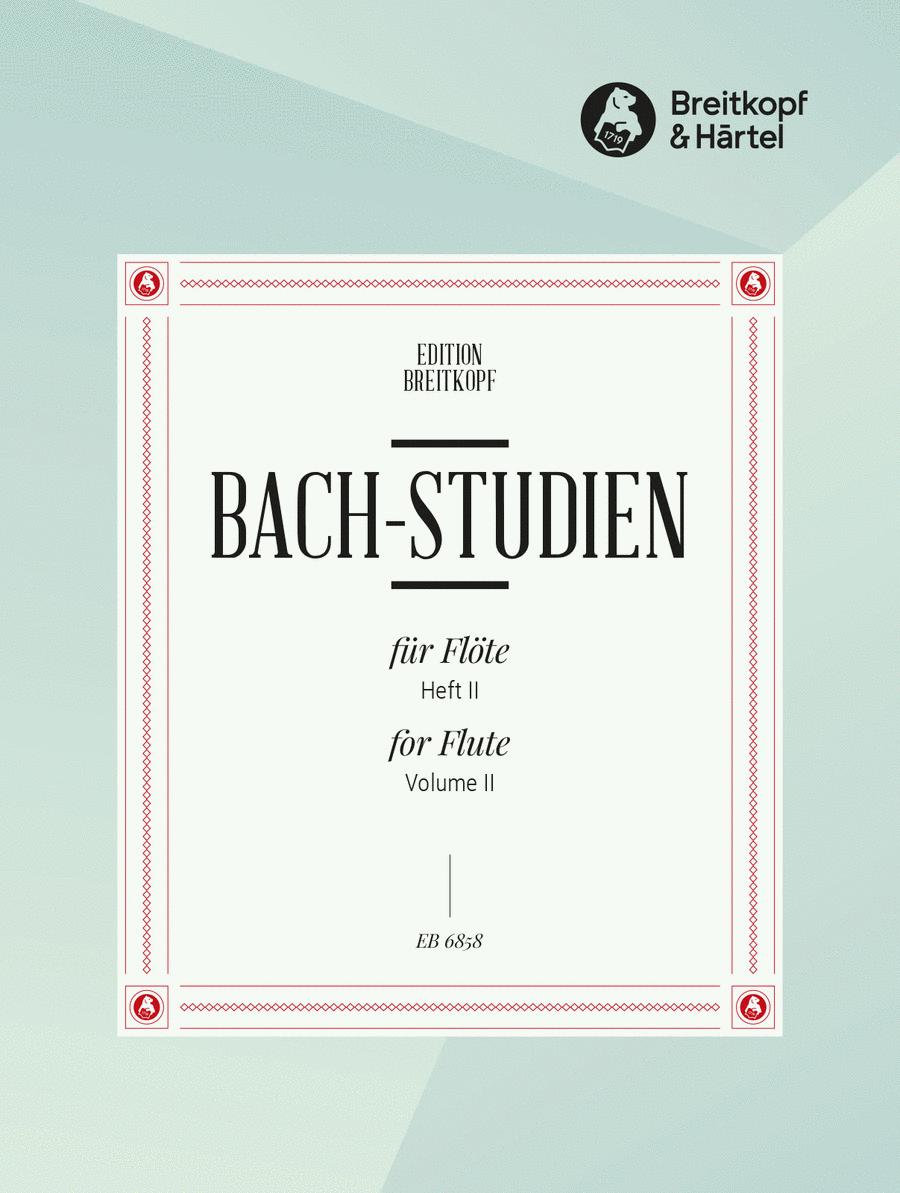 Bach-Studien fur Flote, Heft 2