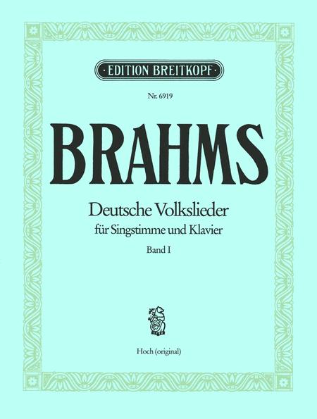 Deutsche Volkslieder, Band 1