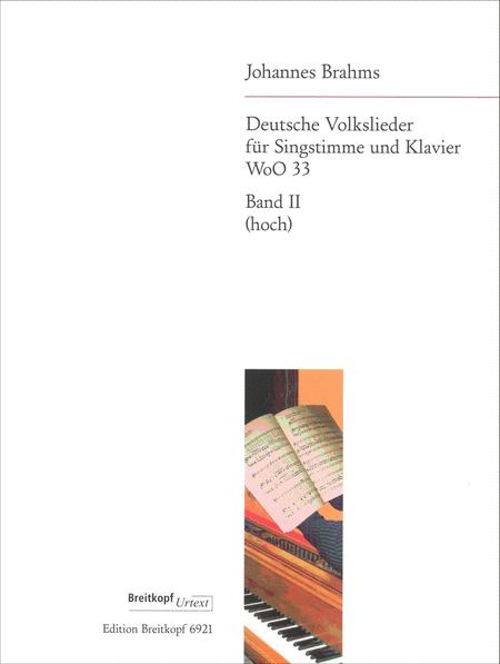 Deutsche Volkslieder, Band 2