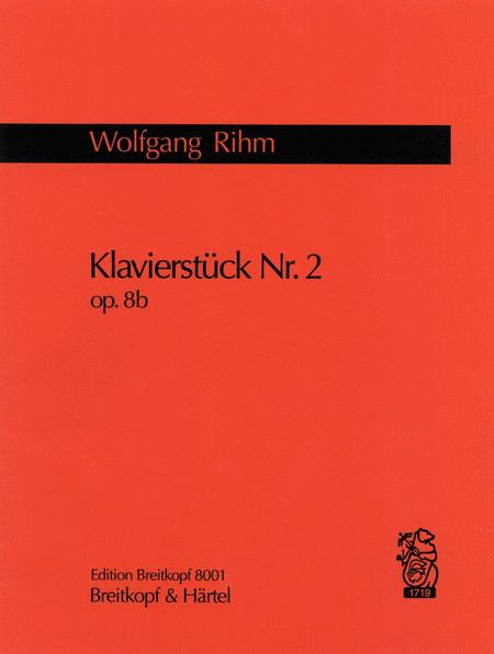 Klavierstuck Nr. 2 op. 8b