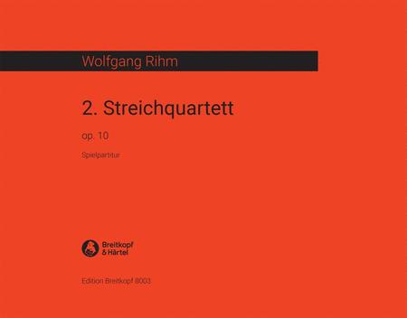 Streichquartett Nr. 2 op. 10