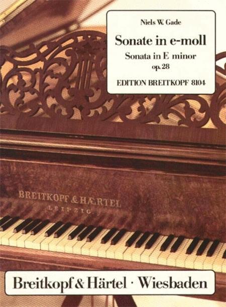Sonate e-moll op. 28