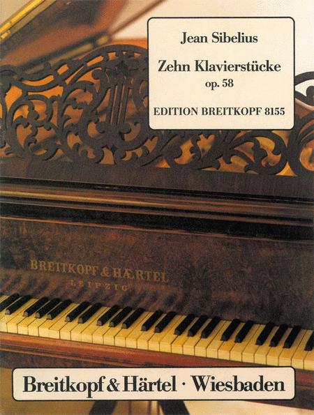 Zehn Klavierstucke op. 58