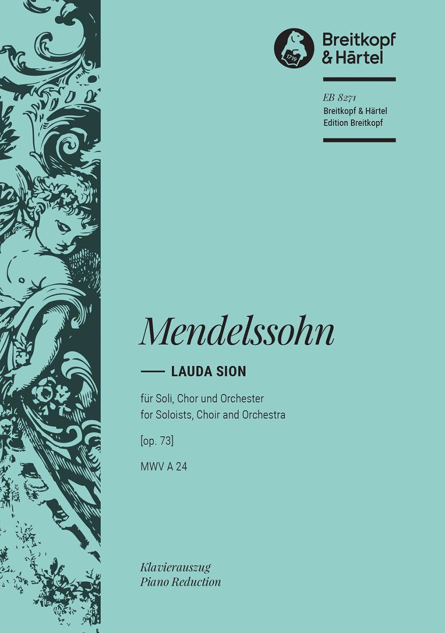 Lauda Sion op. 73
