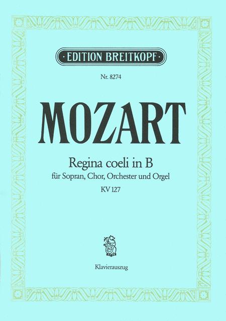 Regina coeli in B KV 127