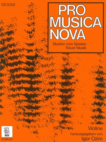 Studien Neuer Musik Violine