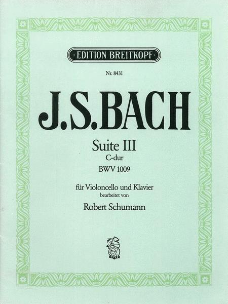 Suite III C-dur BWV 1009