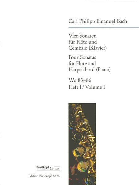 Vier Sonaten, Heft 1 Wq 83,84
