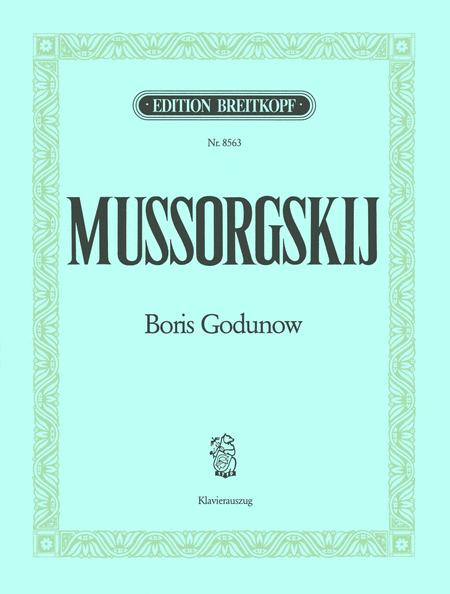 Boris Godunow (Russ.-Frz.-Dt.) Fassung 1874