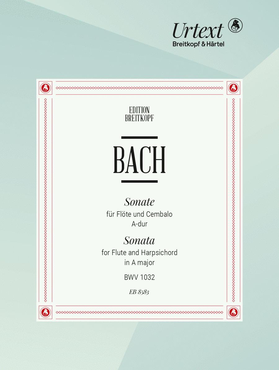 Sonate A-dur BWV 1032