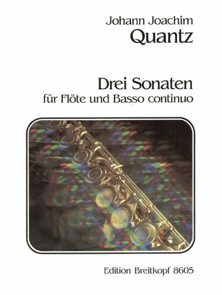 Drei Sonaten QV 1:150/75/114
