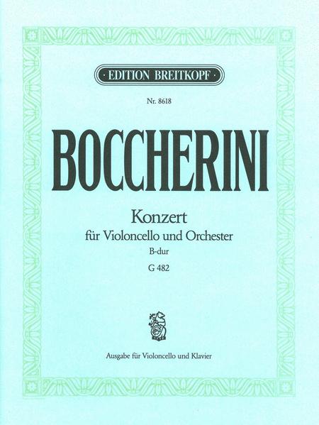Violoncellokonzert B-dur