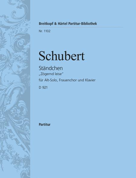 Standchen D 921 (2. Fassung)