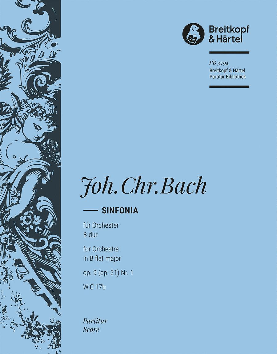 Sinfonia B-dur op. 21/1