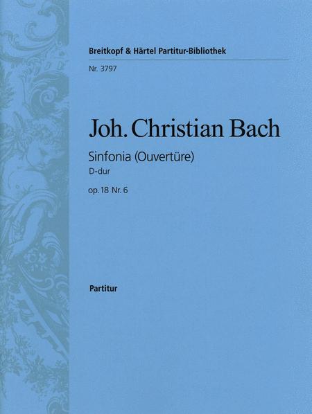 Sinfonia D-dur op. 18/6
